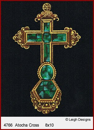 L4766-Atocha Historic Cross by Leigh Designs