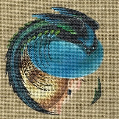 L4900 Magnificence Bird of Paradise Hat by Leigh Designs
