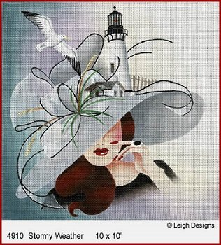 STORMY WEATHER FASCINATIONS by Leigh Designs STITCH GUIDE L4910sg