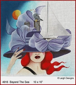BEYOND THE SEA FASCINATIONS by Leigh Designs STITCH GUIDE-- L4716sg