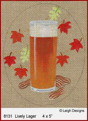 L8131 LIVELY LAGER OKTOBERFEST BEER by Leigh Designs
