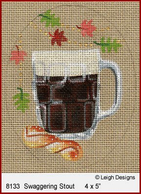 L8133 STAGGERING STOUT OKTOBERFEST BEER by Leigh Designs