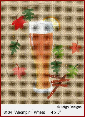 L8134 WHOMPIN' WHEAT OKTOBERFEST BEER by Leigh Designs