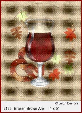 L8136 BRAZEN BROWN ALE OKTOBERFEST BEER by Leigh Designs