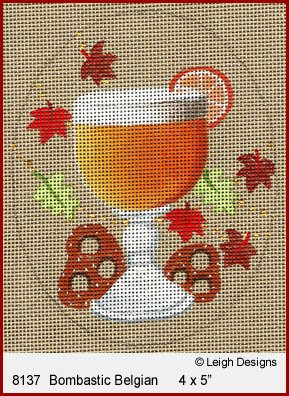 L8137 BOMBASTIC BELGIAN OKTOBERFEST BEER by Leigh Designs