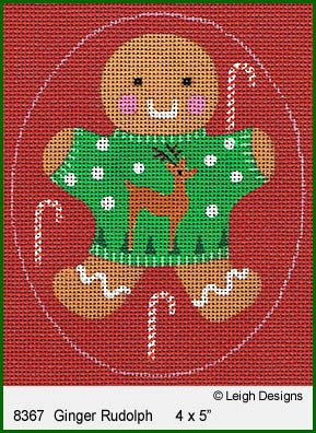 L8367 Ginger Rudolph Ginger Breads by Leigh Designs