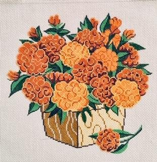 LEEA1116 MARIGOLDS by Lee's Needlearts