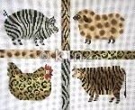 LEEBF16-Safari Farm Animals by Lee's Needlearts