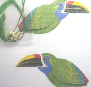 LOL306A-TOUCANETTE 3-D CLIP ON BIRD by Labors of Love