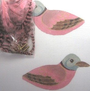 LOL32002-TURTLE DOVE 3-D CLIP ON BIRD by Labors of Love