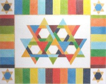 STARS & STRIPES TALLIS by Little Shoppe Canvas LSCCJ005