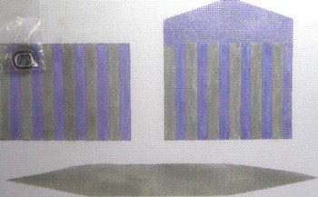 3D PURPLE GREY Purse by Little Shoppe Canvas LSCCPB001