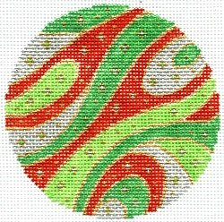 CHRISTMAS ORNAMENT by Laurel Wheeler STITCH GUIDE ONLY-LW9316Msg