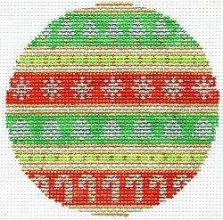 CHRISTMAS ORNAMENT by Laurel Wheeler STITCH GUIDE-LW9318Msg