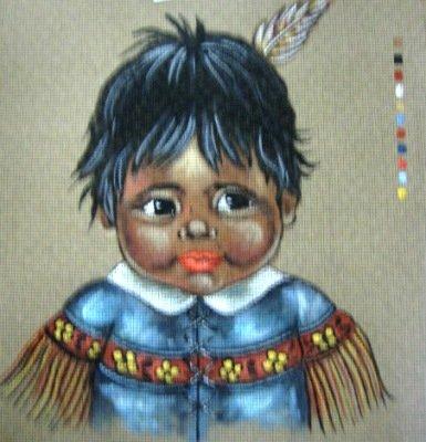 M007-Native American Child