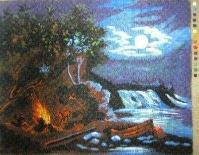 M008-Surreal Campfire