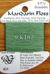 M834 Light Pistachio Mandarin Floss