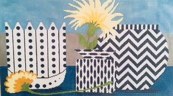 THREE VASES by Machelle Somerville MAS090B