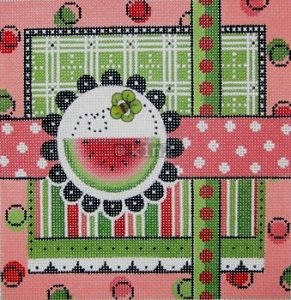 MIN2271-Watermelon & Bee by Mindy