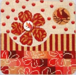 MIN2326-CARDINALS IN SPRING by Mindy