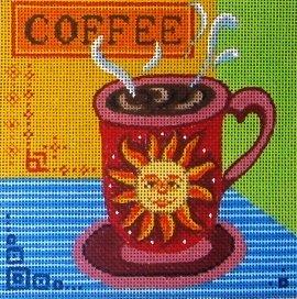 SUN COFFEE MUG by MM Designs Stitch Guide MM19Csg