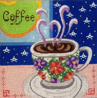 FLOWERS COFFEE MUG by MM Designs Stitch Guide MM29Csg