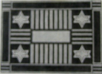 BLACK & WHITE TEFILLIN by Magic Needle STITCH GUIDE-MN0904sg
