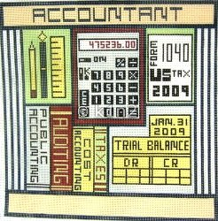 ACCOUNTANT by Magic Needle STITCH GUIDE MN094sg