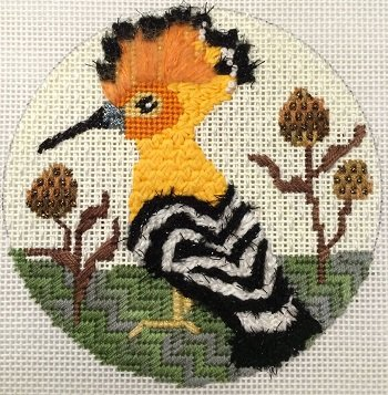 MPB360 HOOPOE RARE BIRD w stitch guide by Melissa Prince