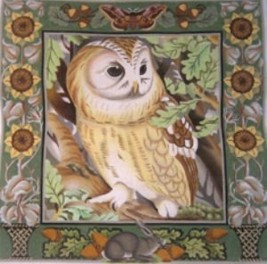LARGE BARN OWL by Melissa Shirley Designs Stitch Guide MS1406