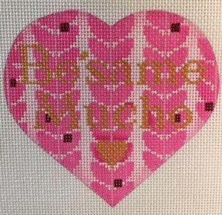 MS1820G BESAME MUCHO PUFF HEART by Melissa Shirley Designs