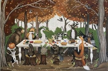 FOREST FEAST by Melissa Shirley Designs STITCH GUIDE MSEF116sg