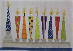 WHACKY MENORAH by Needle Deeva STITCH GUIDE ONLY ND1367B-2sg