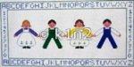 NM323Ch-CHILDRENS SAMPLER BY NM ARTS