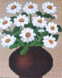 NMART548 ZINNIAS by NM Arts