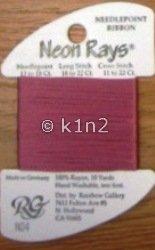 N04 Mauve Neon Rays by Rainbow Gallery-NR004