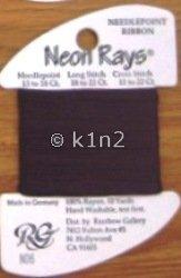 N06 Wine Neon Rays by Rainbow Gallery-NR006