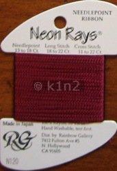 N120 Merlot Neon Rays by Rainbow Gallery-NR120
