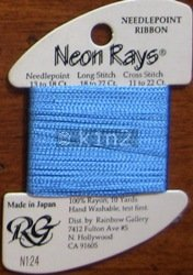 N124 Delft Blue Neon Rays by Rainbow Gallery-NR124