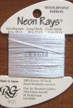 N131 Pale Iris Neon Rays by Rainbow Gallery-NR131
