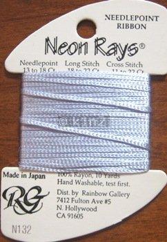 N132 Lt Iris Neon Rays by Rainbow Gallery-NR132