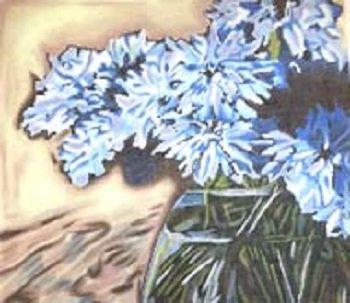 PIP JTP 005 BLUE CORNFLOWERS by Pippin Studios