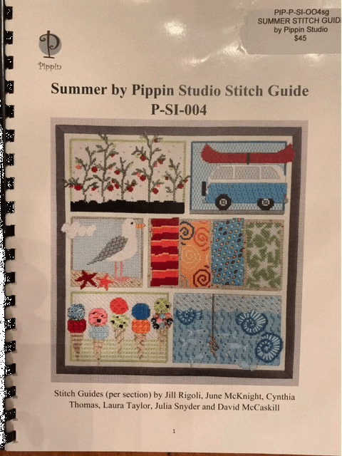 SUMMER SAMPLER STITCH GUIDE by Pippin Studios PIP P-SI004sg