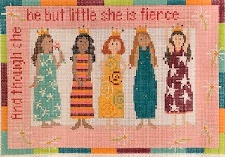 5 Princesses by Pippin Studios Stitch Guide Only PIP PF27 sg