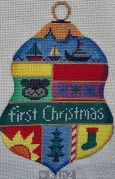 BABY'S FIRST CHRISTMAS BELL by Patti Mann PM11416sg