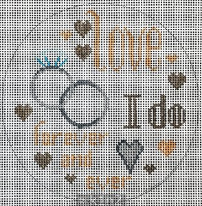 PM11830 I DO Forever and Ever by Patti Mann
