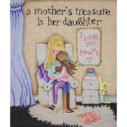 PM20000 A MOTHER'S TREASURE IS HER DAUGHTER by Patti Mann