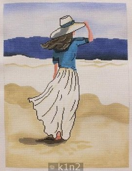 BEACH LADY by Patti Mann Stitch Guide PM20004sg