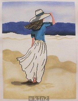 BEACH LADY by Patti Mann Stitch Guide PM20004sg