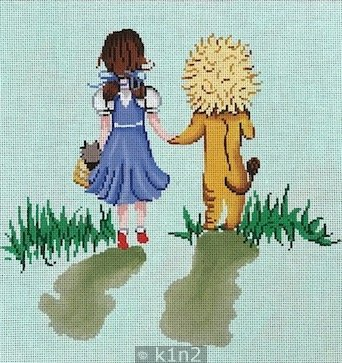 PM20014 DOROTHY AND COWARDLY LION by Patti Mann